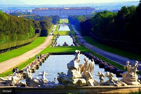 Caserta Italy Palace