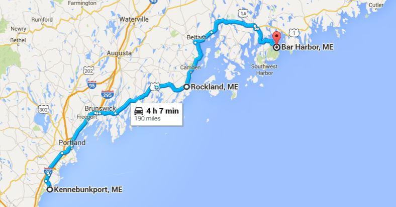 Traveling Inn to Inn in Maine – Maine Travel Map