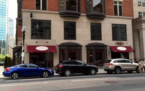 Tico Restaurant Boston Back Bay