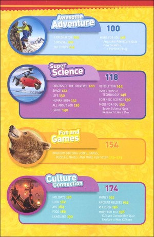 Nat Geo Kids Almanac Topics