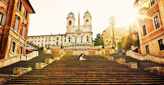 Spanish Steps For Romantic Photos