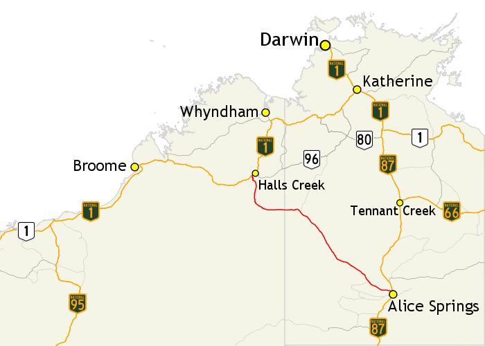 Tanami Trail Austalia