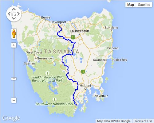Tasmania Cycle Trail