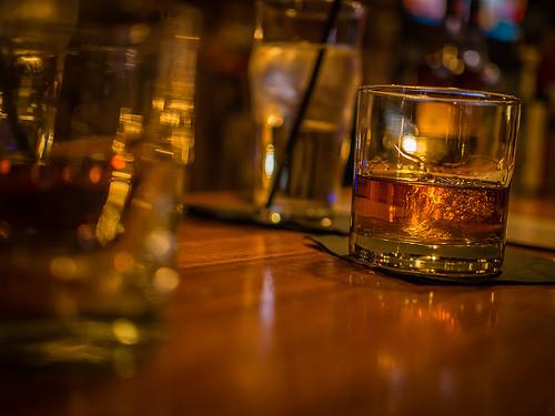Whiskey in Glasgow Scotland
