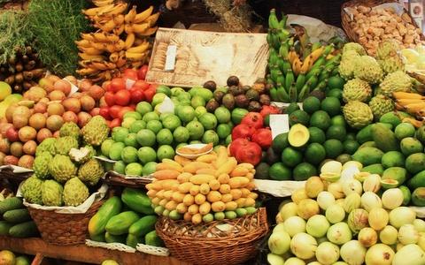Nicaragua fruit stand
