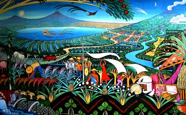 Nicaragua Mural