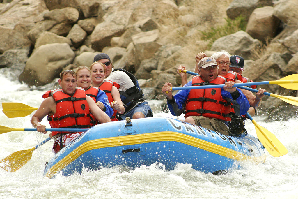 Echo Canyon Rafting Colorado