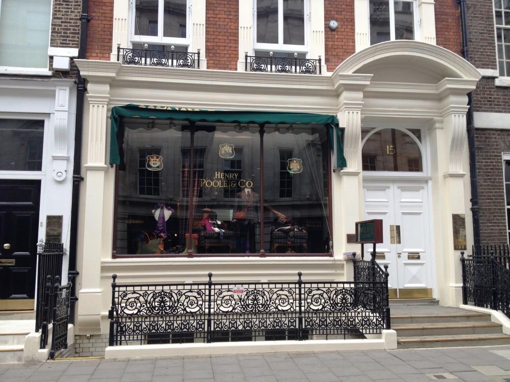 Savile Row Henry Poole & Co