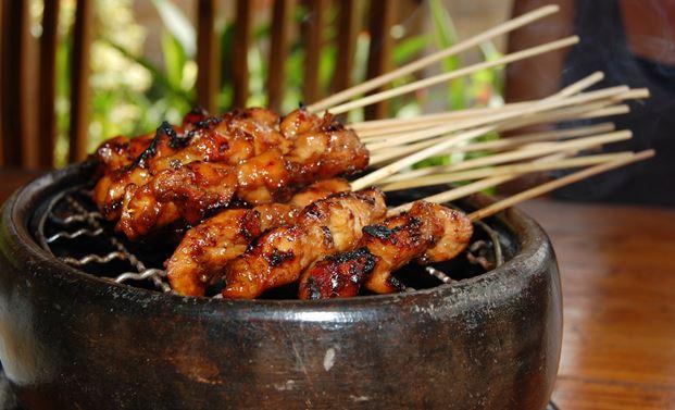 Satay Dish Bali