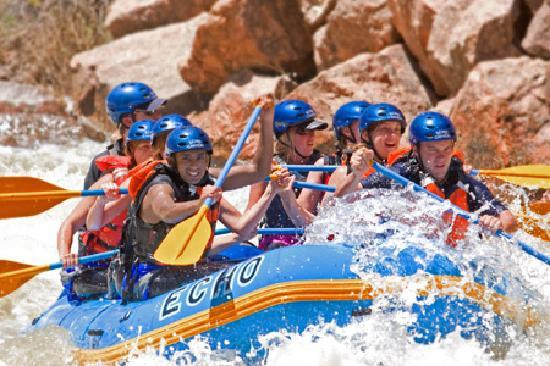 Echo Canyon River Rafting