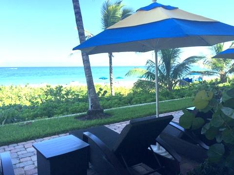 Delray Sands Resort Patio