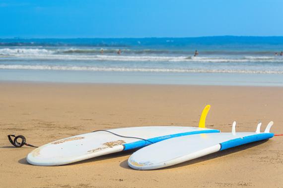 Canggu Bali Surfing