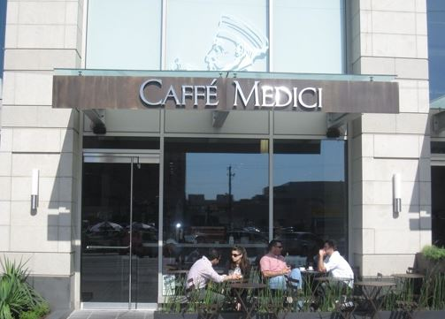 Caffe Medici, Austin, Texas