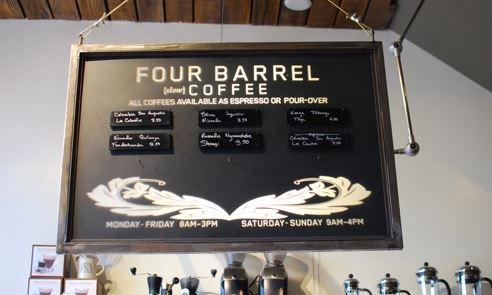 Four Barrel Coffee House, San Francisco