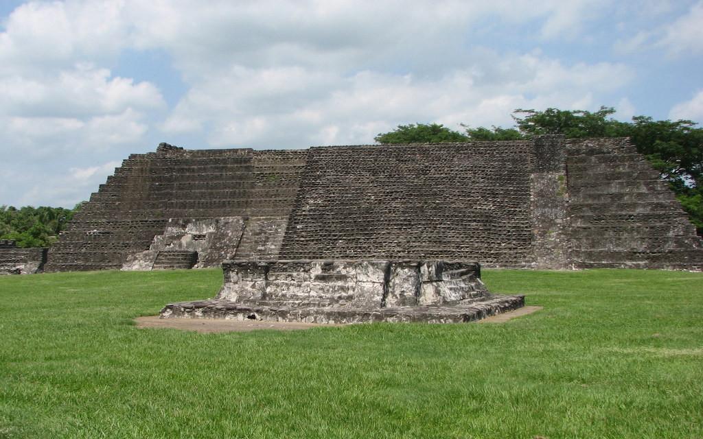 Zempoala Mexico Sacred Alter