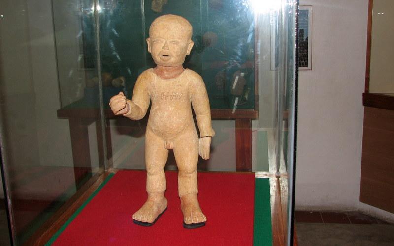 Zempoala Mexico, Ancient Figure