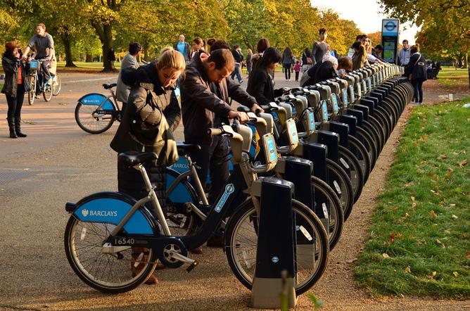 Boris Bikes London
