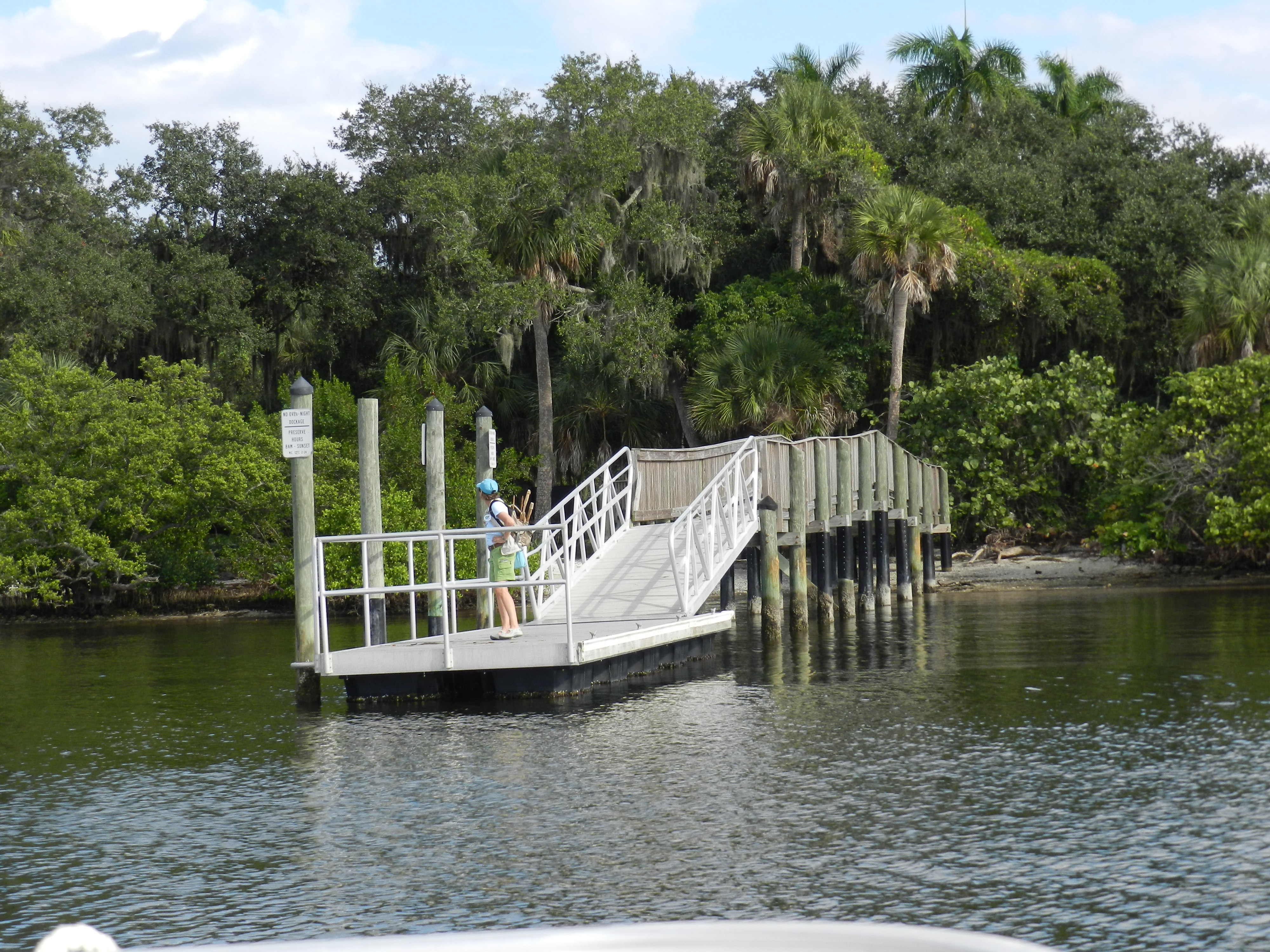 Entrance to Emerson Point Preserve