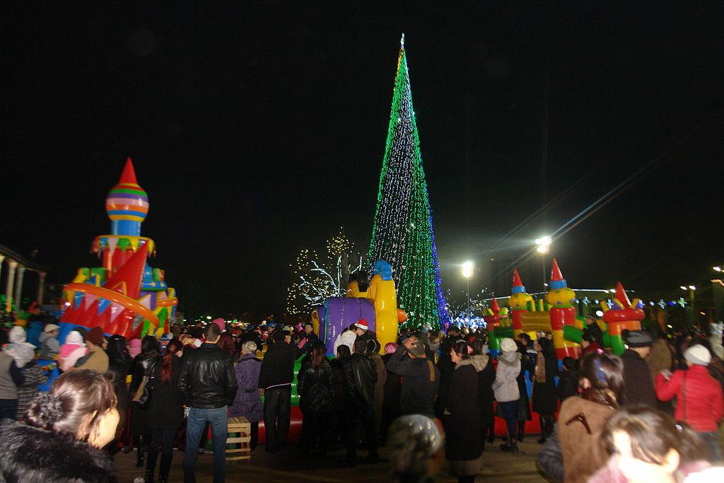 Tashkent, Uzbekistan New Year Celebration