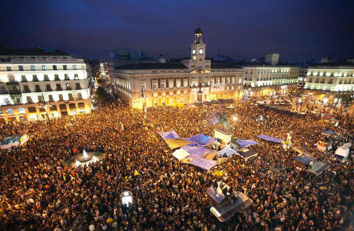 Madrid Spain New Years Eve