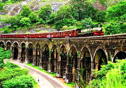 Kollam Punalur Railway India