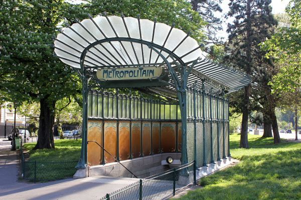 Art Nouveau Metro Paris