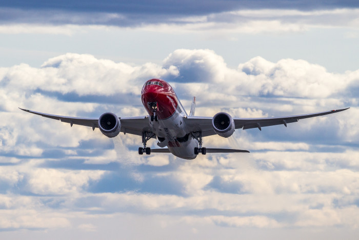Norwegian Airline Dreamliner
