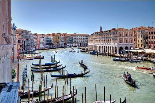 Romantic Venice Grand Canal