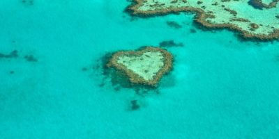 Australia Heart Island