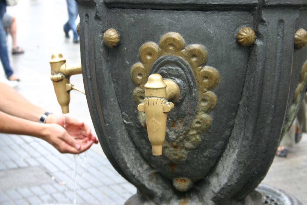Canaletes Fountain Barelona
