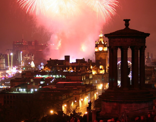 Hogmanay Edinburgh Scotland