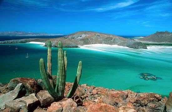 La Paz Coastline Baja