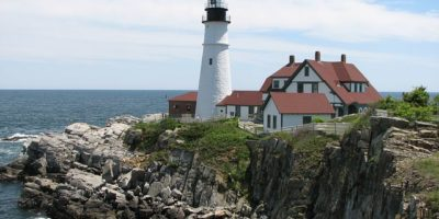 New England Portland Lighthouse