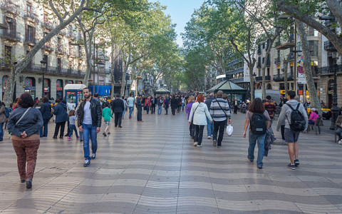 The Changing Faces of The Ramblas, Barcelona's Most Famous Street