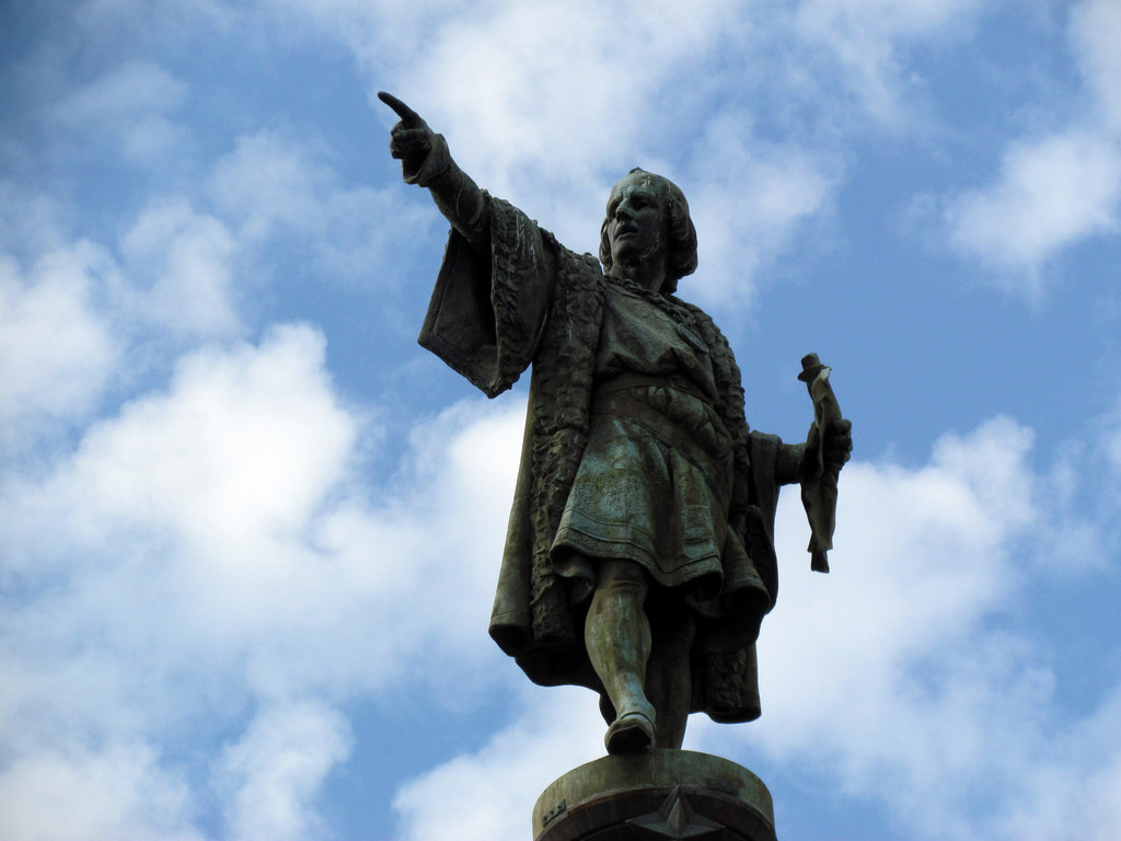 Christopher Columbus Momument Barcelona