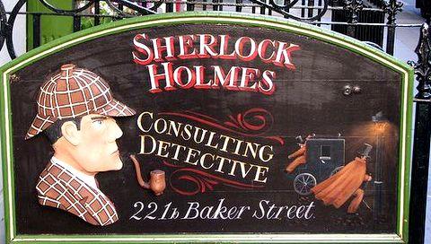 Sherlock Holmes Museum Baker Street London