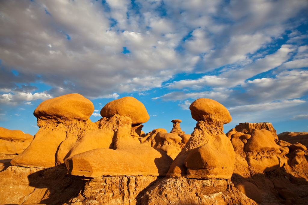 USA, Utah, Goblin Valley, San Rafael Swell, Rock formations