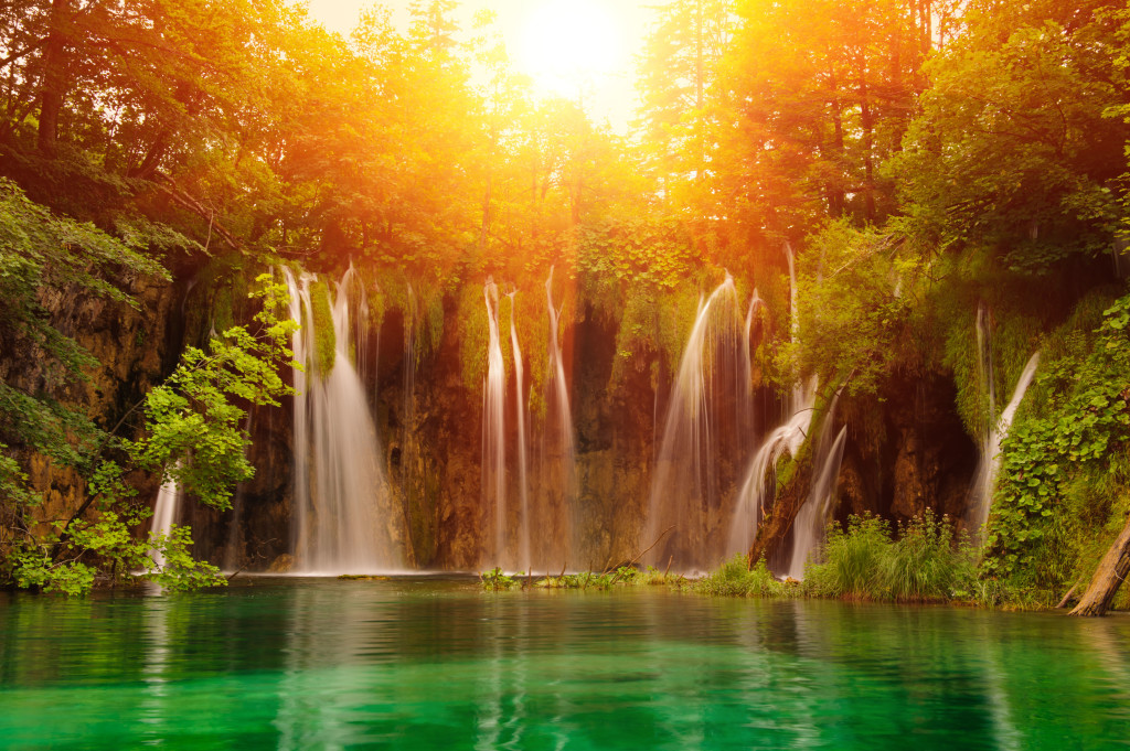 Plitvice Croatia Waterfalls
