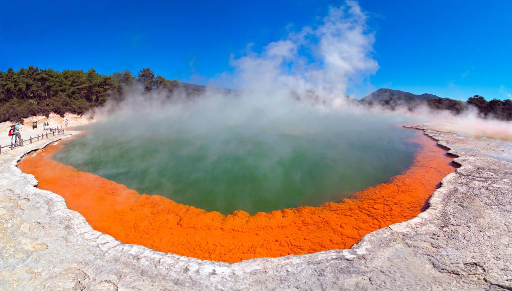 Waiotapu Thermal Reserve Rotorua New Zealand