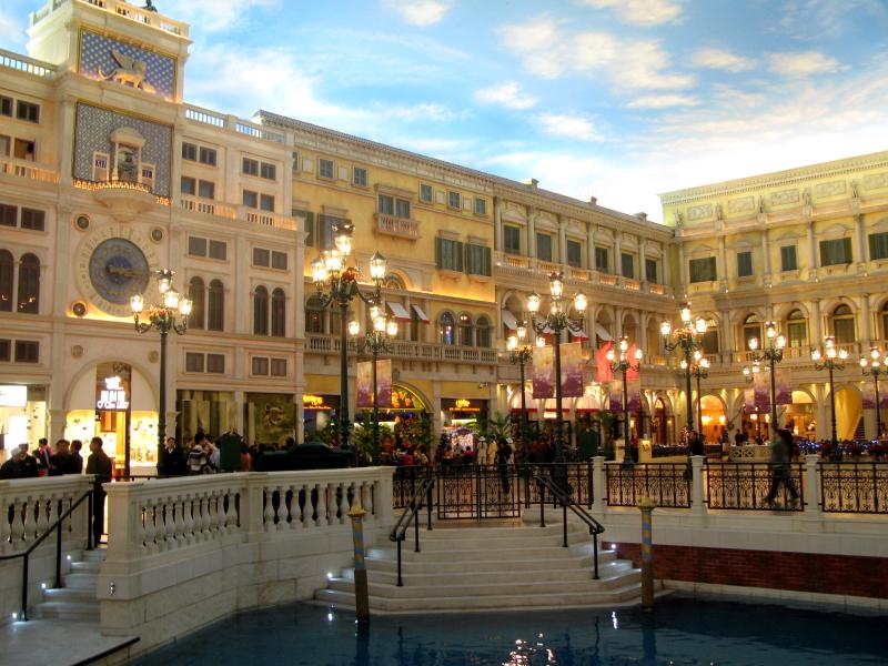 Venetian Macao Shopping