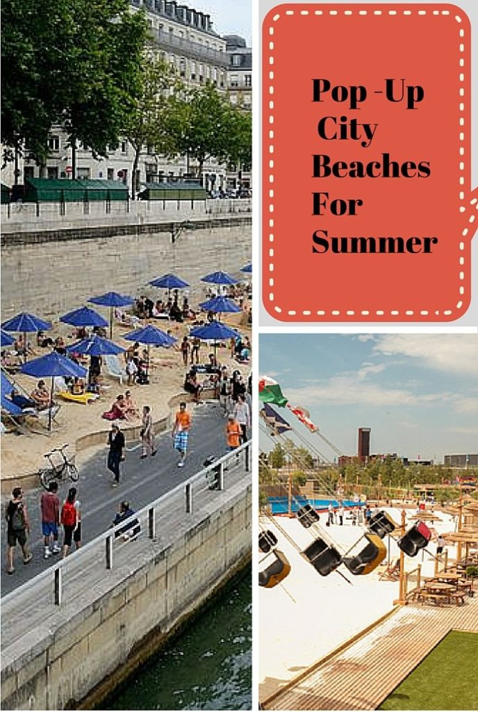 Pop Up City Beaches