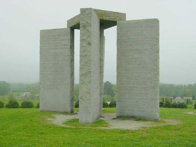 Georgia Guidestones Monument