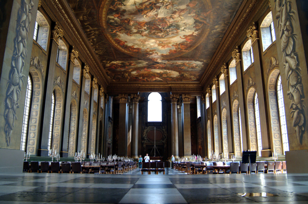 Old Royal Naval College Greenwich England