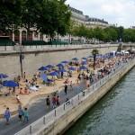 Paris Plages Summer Beach on Seine