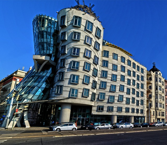 Drunkin House Building Prague