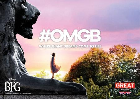BFG Lions At Trafalgar Square