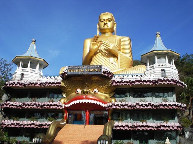Budhist Temple Sri Lanka