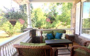 1837 Cobblestone Cottage Porch