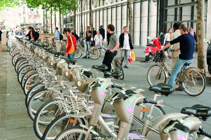 Paris Velib Bikes