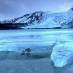 Iceland Glacier Ice